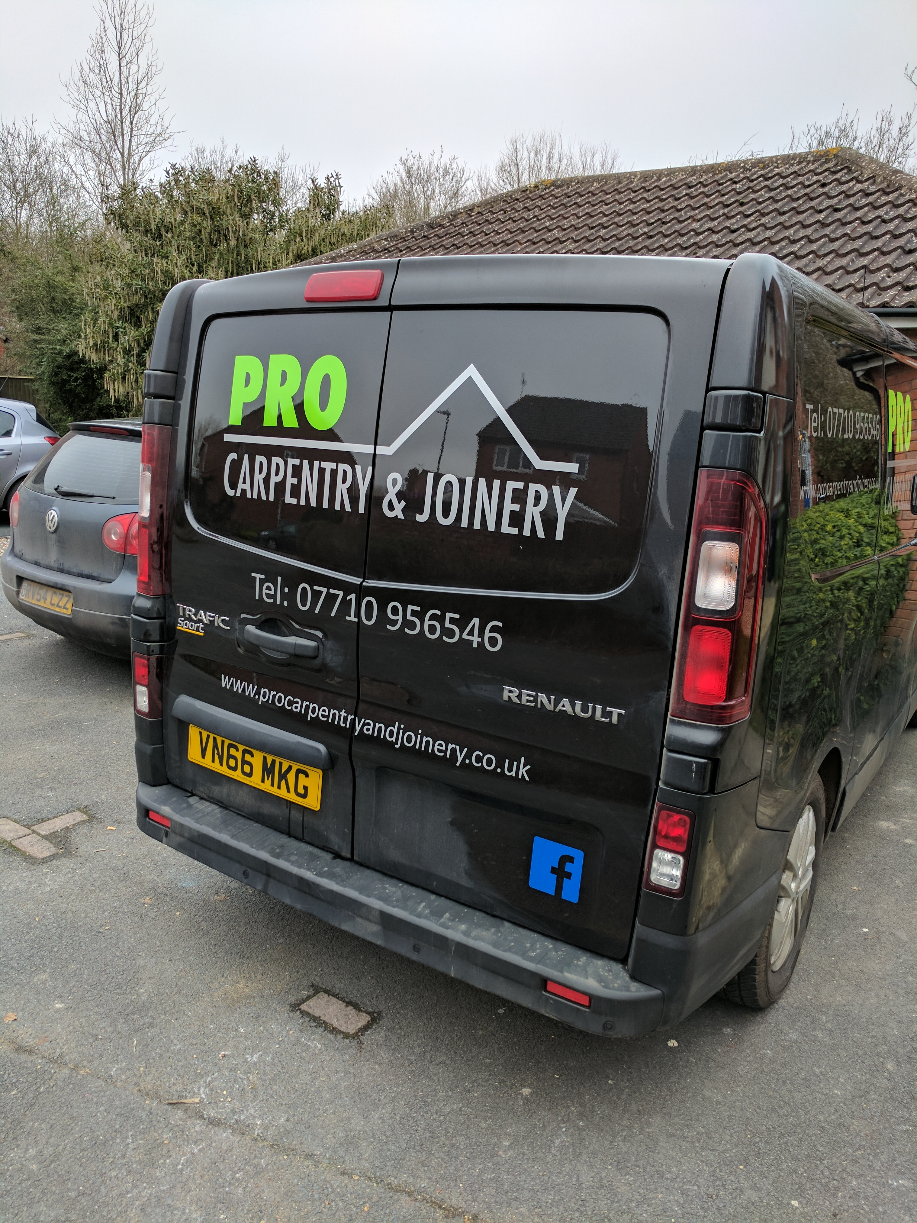 The Van Has Its Signwriting Pro Carpentry Amp Joinery